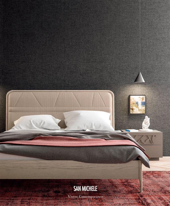 Современная меблировка Спальни